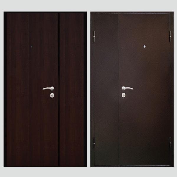 дверь металлическая 1200 тамбурная